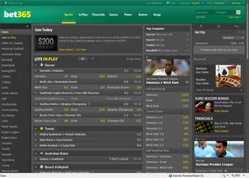 Bet 365 Sportsbook