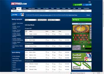 Bet Fred Sportsbook